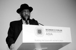 While Pachauri himself is not a woman, he's long had women's backs, and the support is mutual. Unlike most male feminists, Pachauri says, he isn't just doing it to get laid, pointing out that if that were his only motive, he could think of about a hundred cons that would guarantee a higher quantity and quality of quim.
